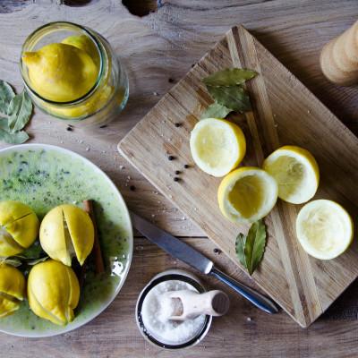 Kiszone cytryny (do tażin)