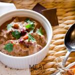 Wołowina z czekoladą i chilli - danie główne