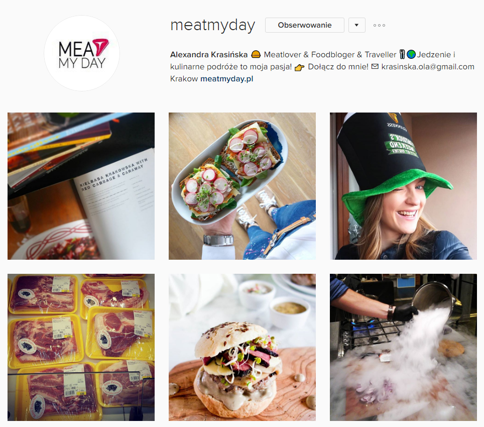 Meat My Day Instagram
