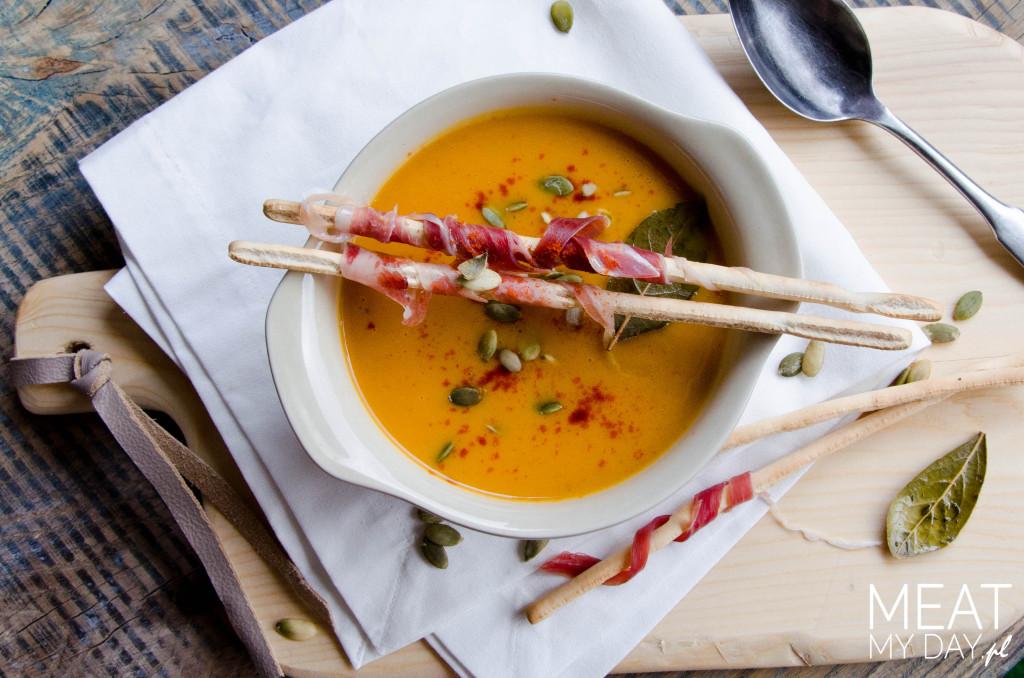 Zupa krem z batatów i dyni