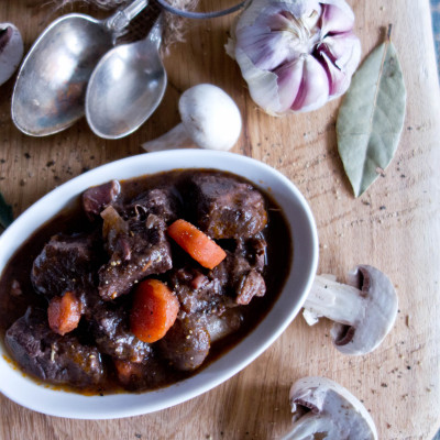 Boeuf Bourguignon – wołowina po burgundzku by Julia Child