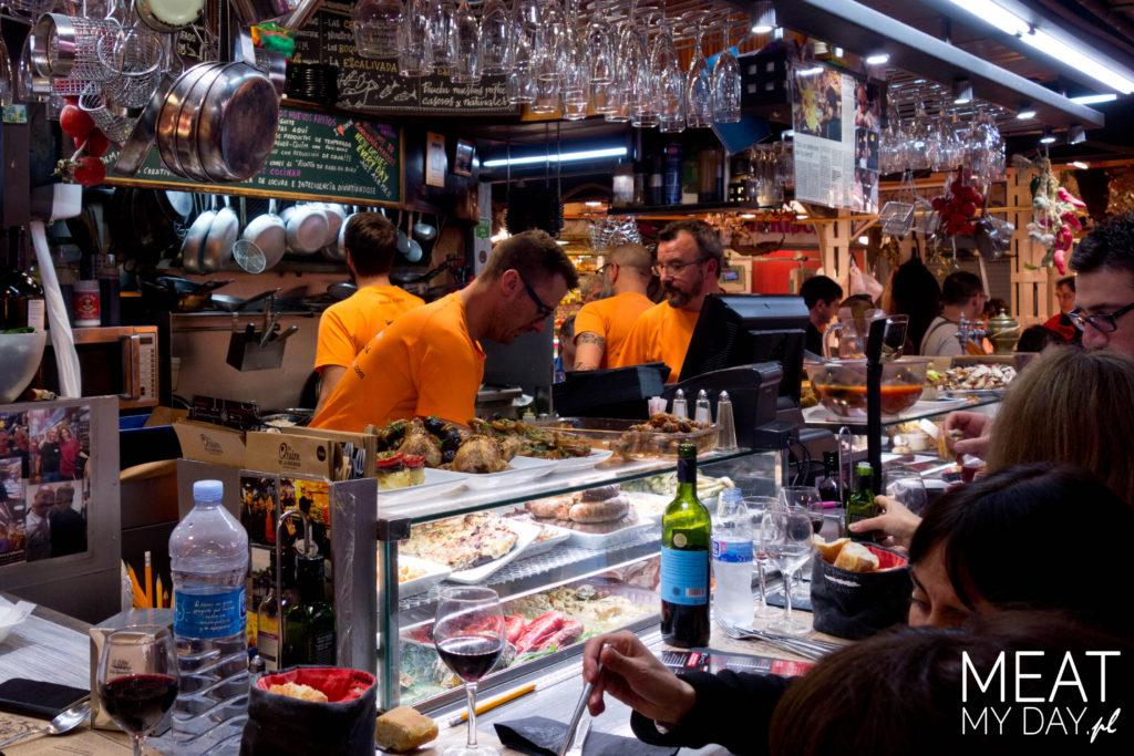 Gdzie jeść w Bacelonie - El Quim de la Boqueria
