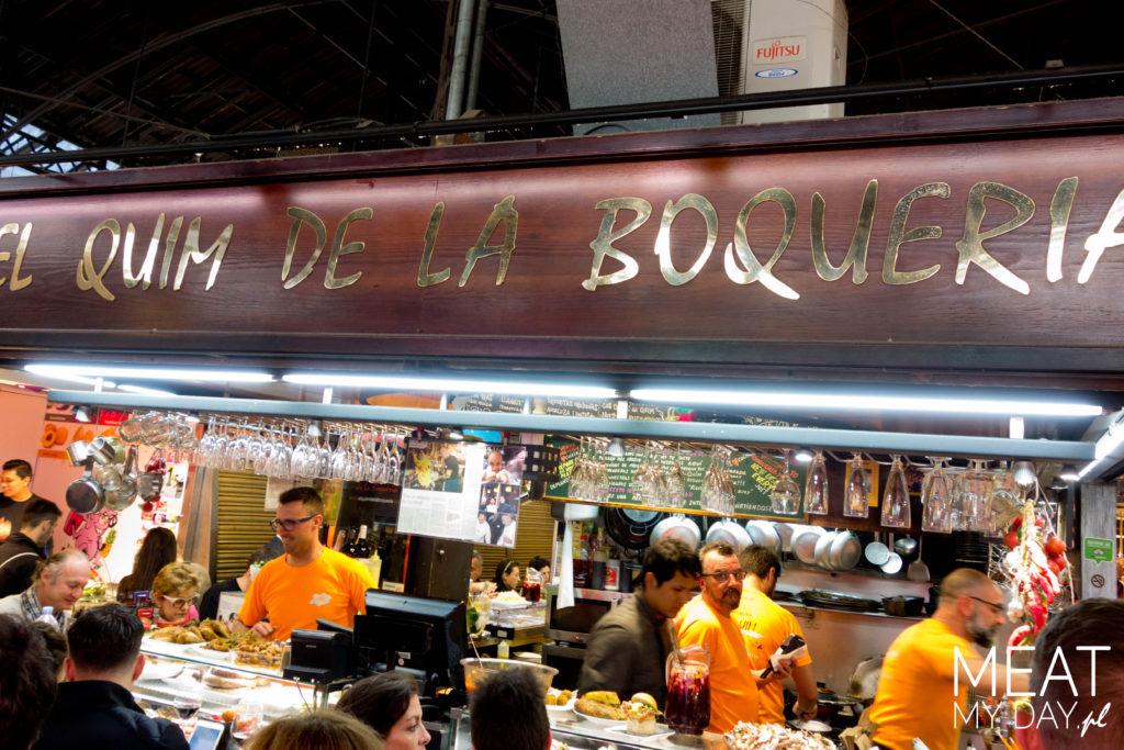 Gdzie zdjęć w Barcelonie - El Quim de la Boqueria