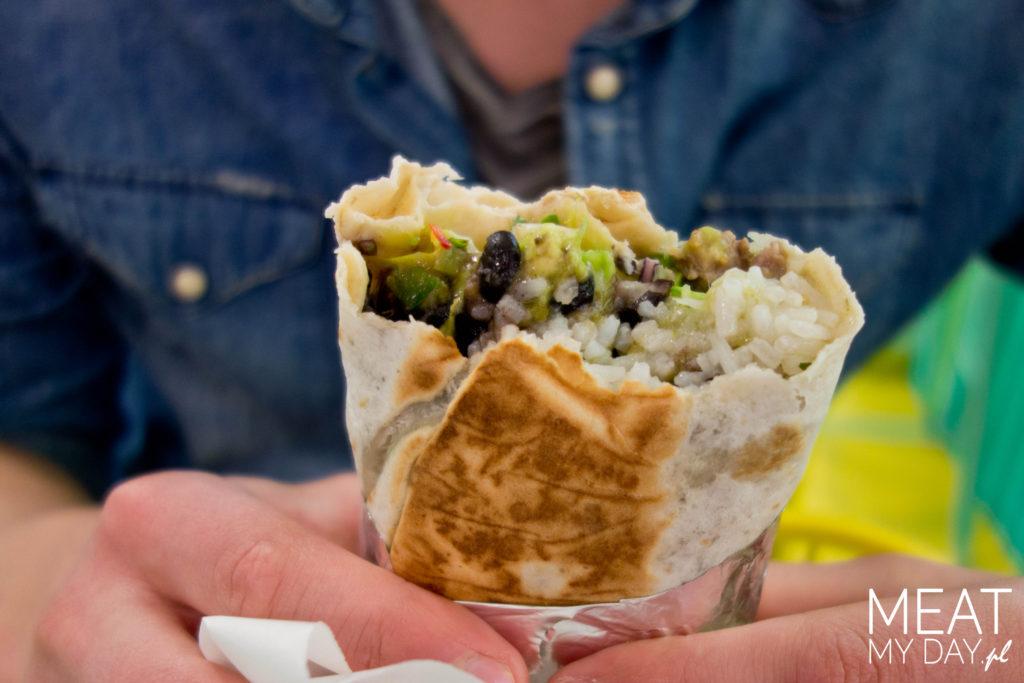 Senor Burrito - burrito z awokado i włowiną