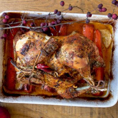 Idealny kurczak pieczony w całości