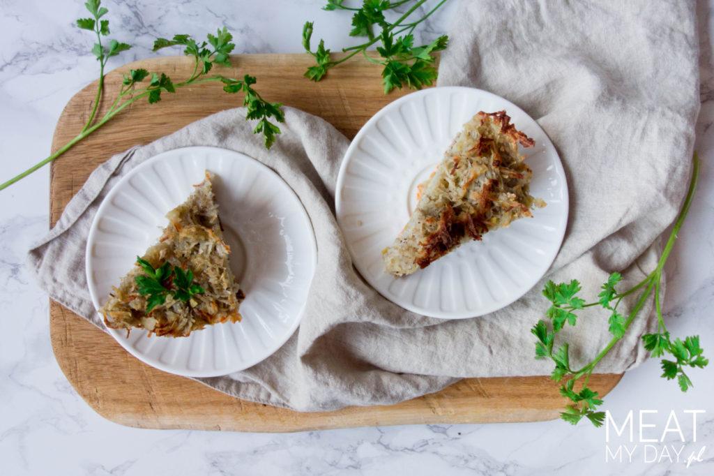 Zapiekanka ziemniaczana z mięsem