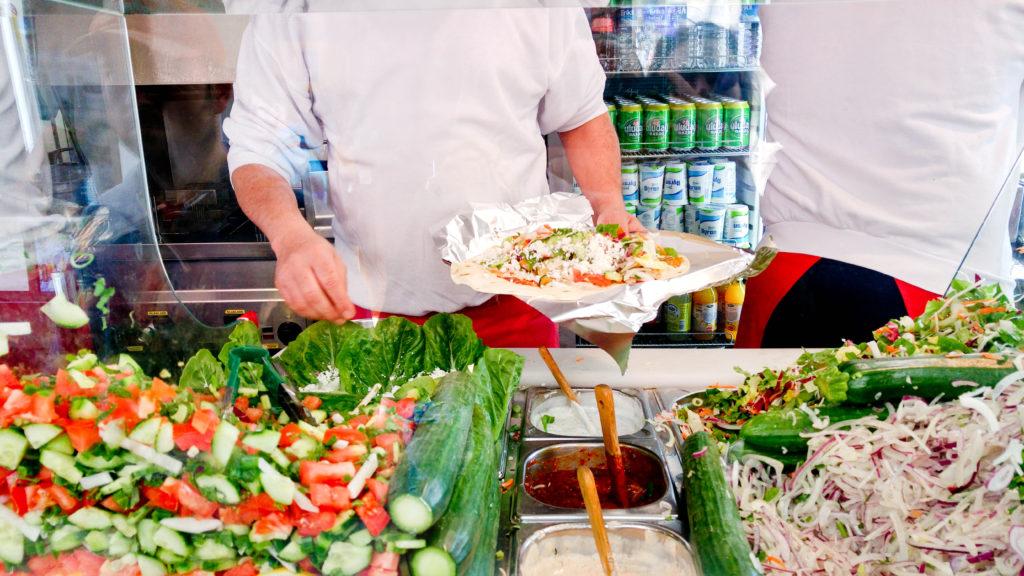 Kebab - Mustafa Gemuse Kebap