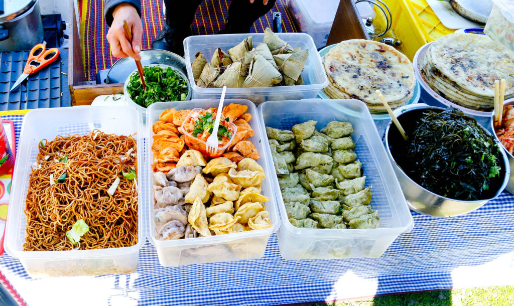 Thai Park - pierożki i kimchi