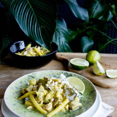 Balijski gulasz z wieprzowiną i warzywami