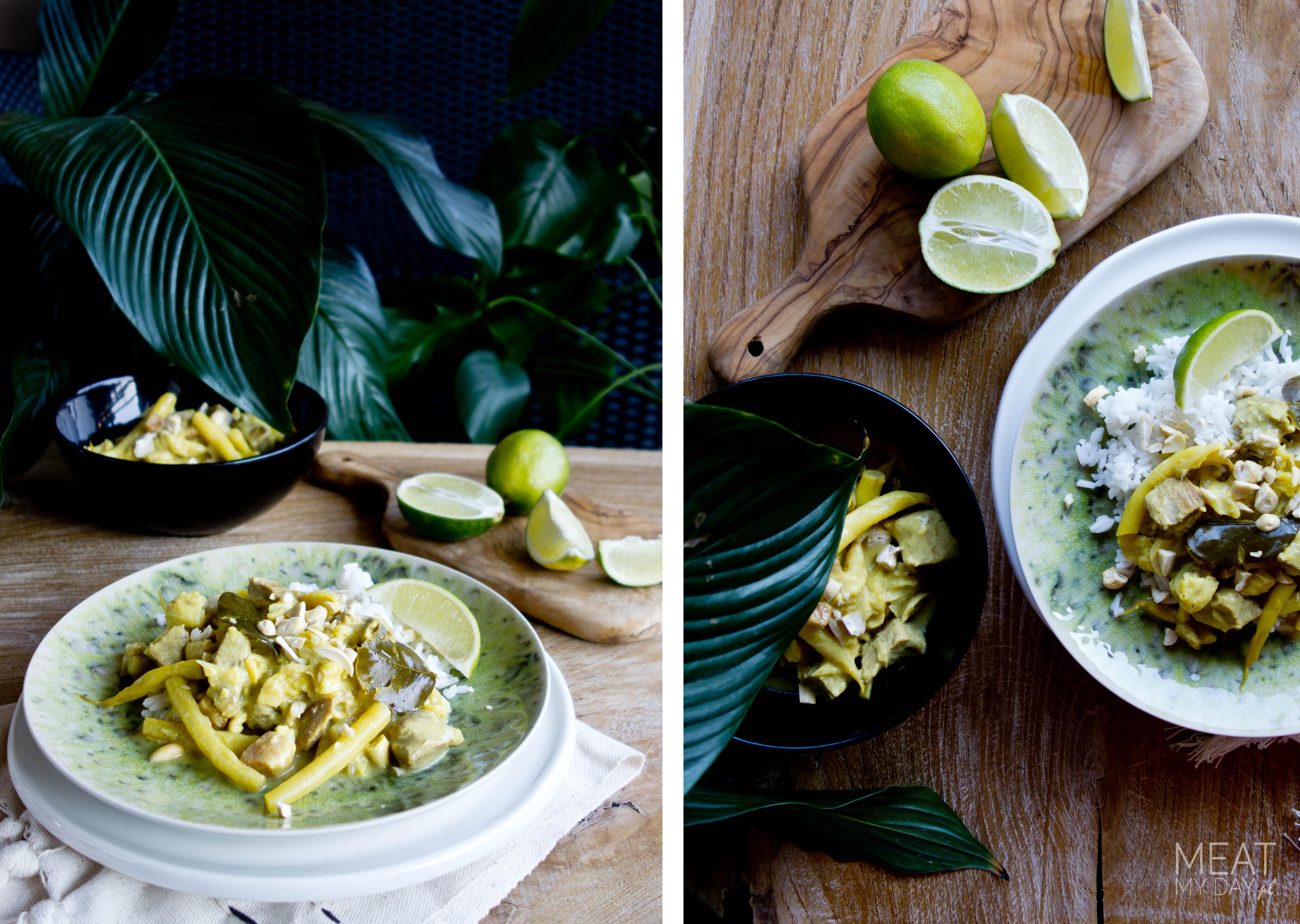 Balijski gulasz wieprzowy z warzywami