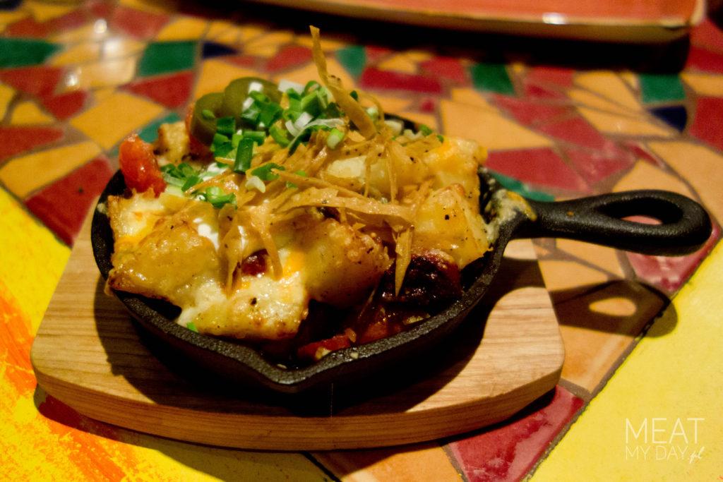 Smażone chorizo z ziemniakami