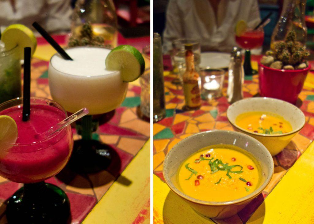 Margarita i krem z dyni
