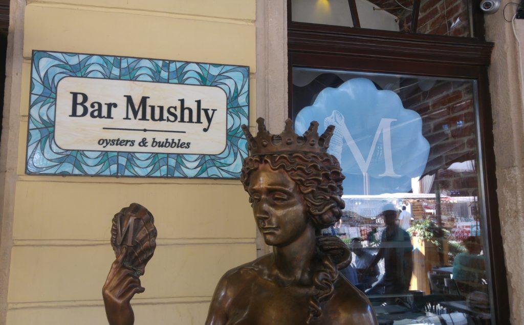 Bar Mushly - najlepsze ostrygi i owoce morza