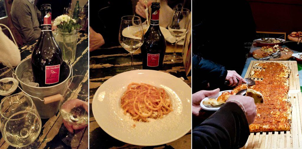 Del Fico, prosecco, makaron i przekąski