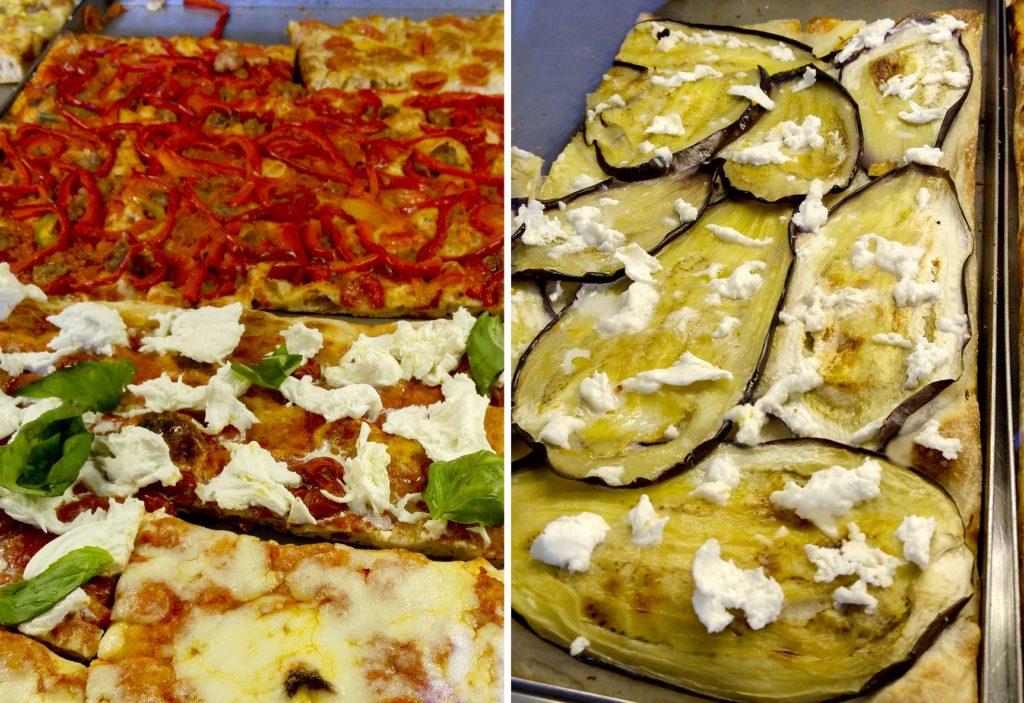 La Pizza, pizza na kawałki