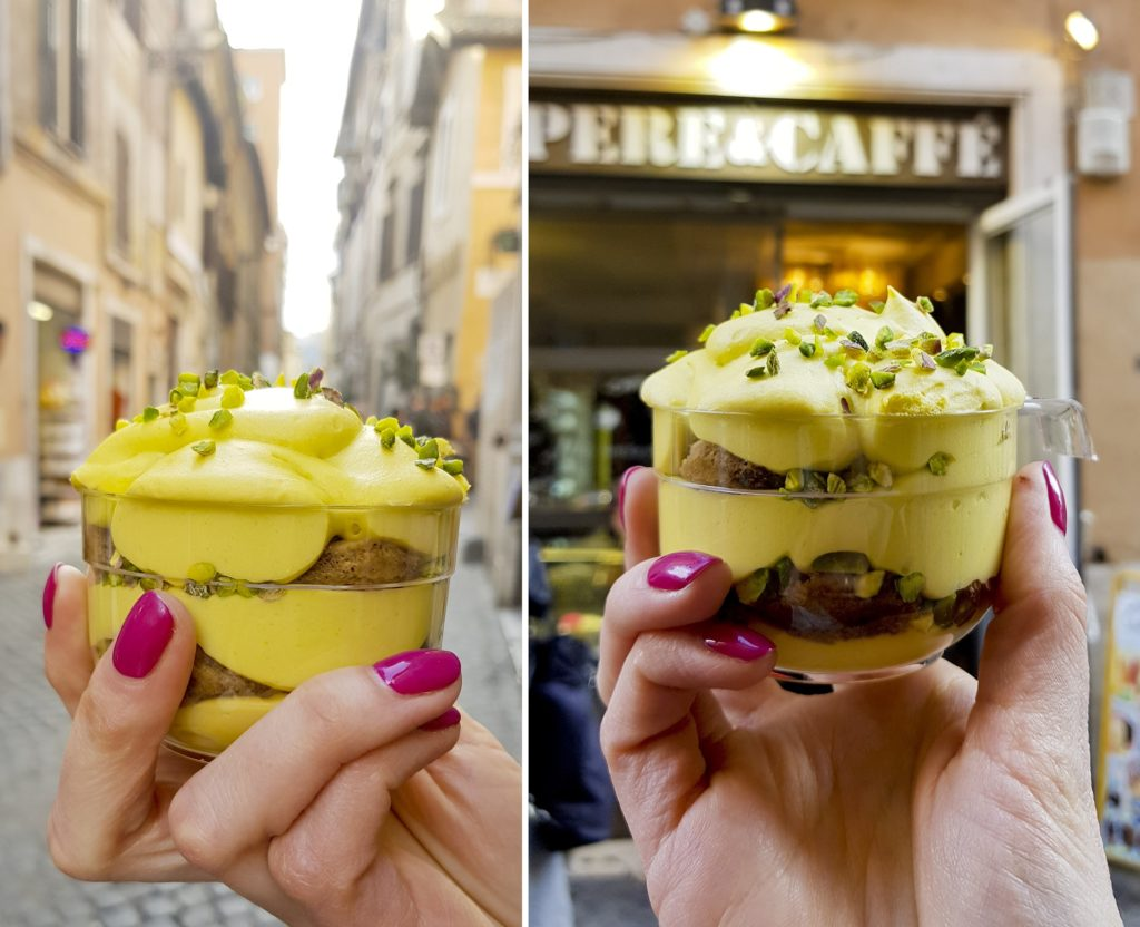 Opere&Caffè, tiramisu pistacjowe