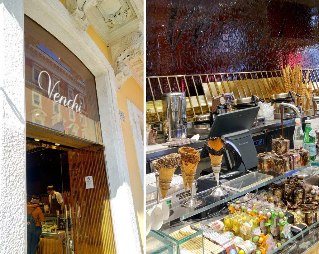 Venchi, lody i czekolada