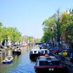 Kanały w Amsterdamie
