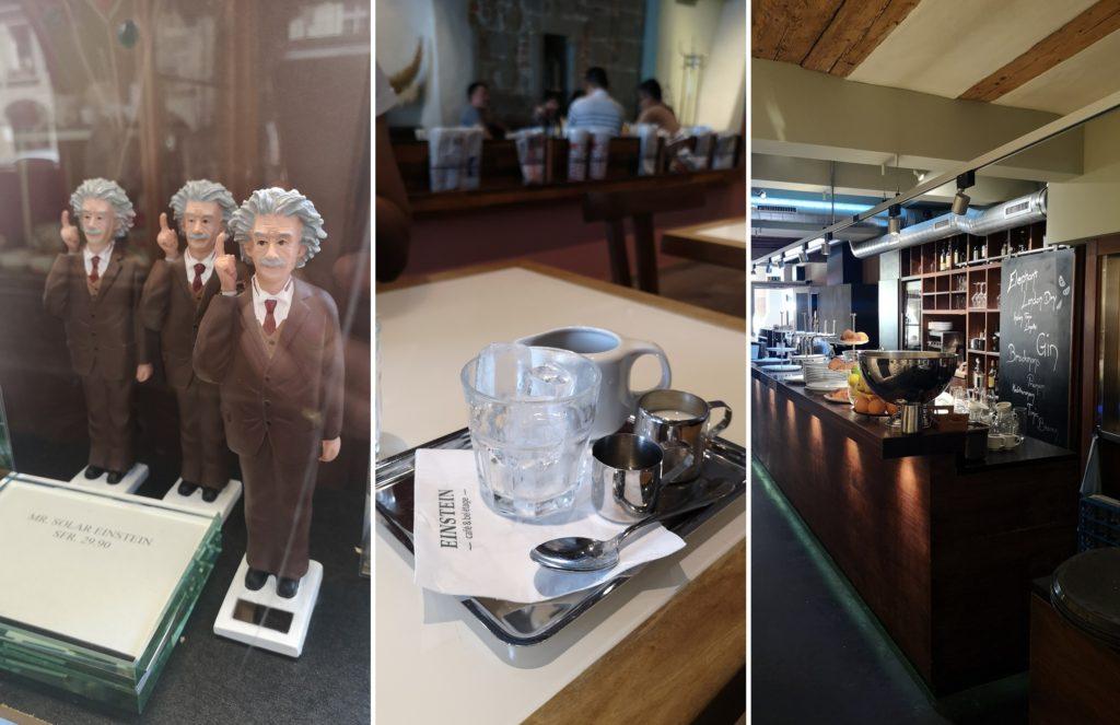 Berno - kawiarnia Einsteina