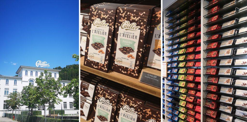 Cailler - fabryka czekolady w Bro